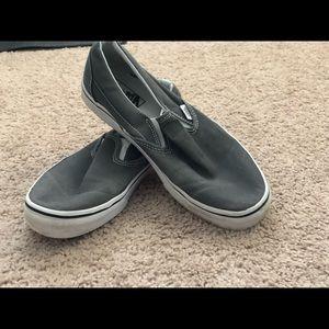 Slip On Gray Vans